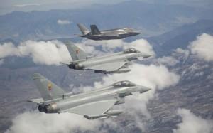 F-35&Typhoon