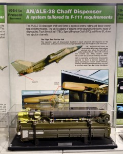 AN-ALE-28 chaff dispenser for F-111