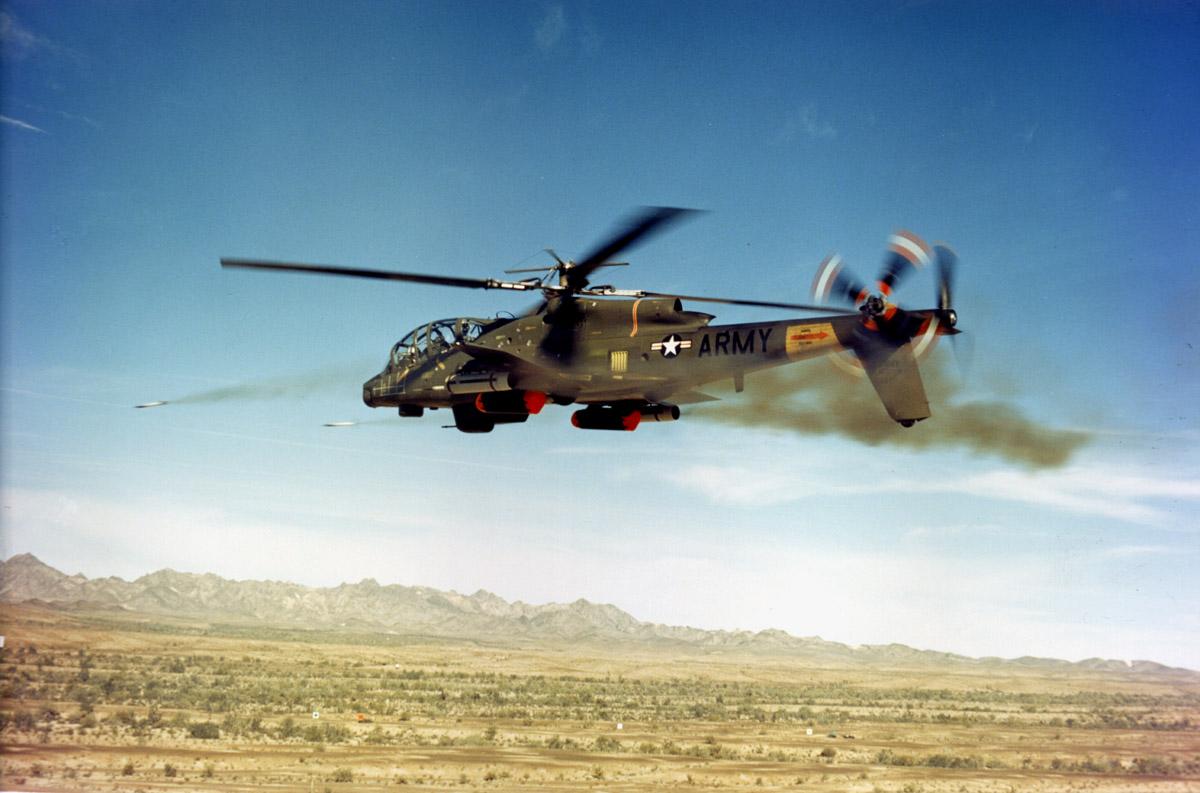 Km H Elicottero : Lockheed ah cheyenne